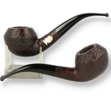 Savinelli Raphaello Sandblast Dark Brown 6mm Briar Pipes