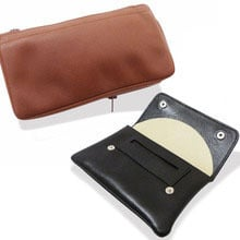 Spanish Leather High Grade Leather Hand Rolling Tobacco Pouches
