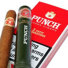 Punch Tubed Cuban Cigars