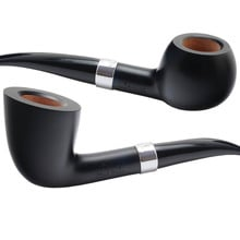 Charles Rattray's Black Swan 9mm Briar Smoking Pipes