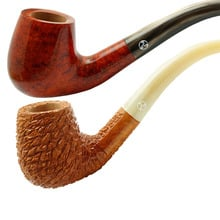 Charles Rattray's Antique 9mm Briar Smoking Pipes