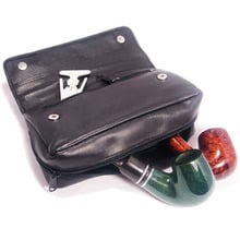 Leather Pipe Tobacco Pouches