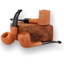 Alfred Dunhill White Spot Tanshell Briar Pipes