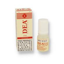 DEA 10ml 4mg Sunlight (Natural Tobacco) Premium Italian Eliquid