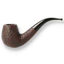 **SOLD** Northern Briars Bent Billiard G5 Hand Carved Briar Pipe NB-101