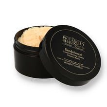 Piccadilly Shaving Company Luxury Shaving Cream Sandalwood