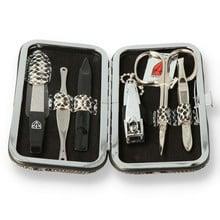 ***DISCONTINUED*** Kellermann & Co. Three Swords 6-Piece Manicure Set 7840 Snake