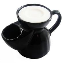 Vulfix Black Old English Shaving Scuttle (Mug) with Soap