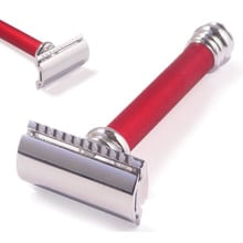 **DISCONTINUED** 38031 Merkur Heavy Duty Red Traditional German Made Safety Razor 38