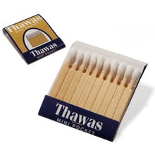 **DISCONTINUED** Styptic Match Book For Healing Shaving Cuts