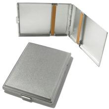 1474-MN Superkings Satin Chrome German Made Cigarette Case