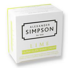 Alexander Simpsons Ultra-Glide Shaving Cream 180ml Lime