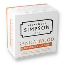 Alexander Simpsons Ultra-Glide Shaving Cream 180ml Sandalwood