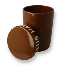 Havana club tinaja cigar storage jar brown 2
