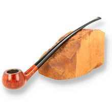 Wessex Deluxe Briar British Made Churchwarden Reading Pipe (30)
