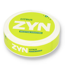 Zyn citrus 3mg 1