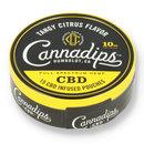 Cannadips tangy citrus cbd chew bags 1