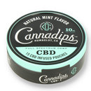 Cannadips natural mint cbd chew bags 1