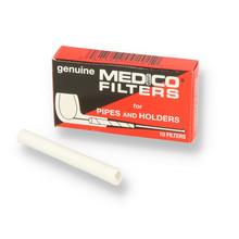 Medico 6mm Pipe Filters (Pack of 10)