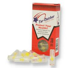 Tar Catcher 8mm Cigarette End Cap Filters (Pack of 30)