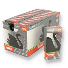 Swan Graphite Extra Slim Carbon / Charcoal Filter Tips (Full Box)
