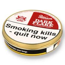 Peterson Dark Flake Pipe Tobacco (50g Tin)