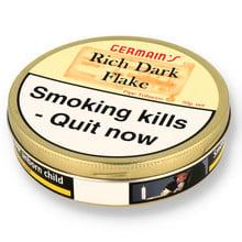 JF Germain's RDF (Rich Dark Flake) British Pipe Tobacco (50g TINS)