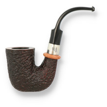 **SOLD** Northern Briars G4 Regal Rox Cut Banded Calabash Hand Carved Briar Pipe NB-124