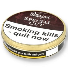 Peterson Special Cut (Nutty Cut) Tinned Pipe Tobacco (50g Tin)