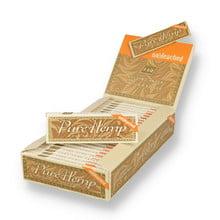 "Pure Hemp UNBLEACHED Regular 1.25"" 76mm Cigarette Papers (Full Box 25)"
