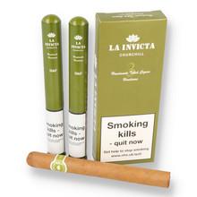La Invicta Churchill Honduran Hand Rolled Cigars (Pack of 3 Tubed Cigar)