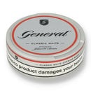 General classic white chew bags 1