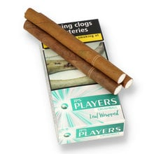 JPS Players Crushball Leaf Wrapped Menthol (Pack of 10)