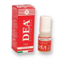 DEA 10ml 0mg Little Red (Formerly Strawberry) Italian Eliquid (Nicotine Free)