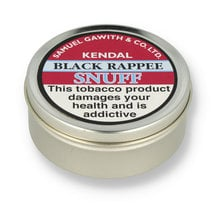 **DISCONTINUED** Samuel Gawith Black Rappee Snuff (Vacuum Sealed Tin)