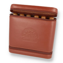 H. Upmann Leather Travel Humidor with 6 Robusto Cigars