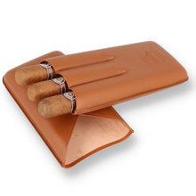 Montecristo 3 Cigar Leather Travel Case (3 Montecristo Edmundo Cigars)