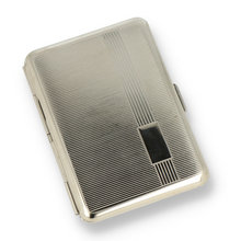 842-01-084 Roll-Up Striped German Made Rollup Case with Engraving Plaque