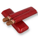 Romeo y julieta churchill red leather pouch 1
