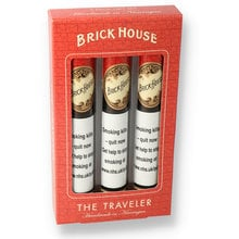 Brick House Classic Natural Traveler Gift Pack (3 Cigars)