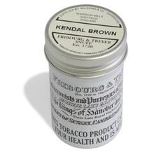 **DISCONTINUED** Fribourg and Treyer Kendal Brown English Snuff (Medium Tin)