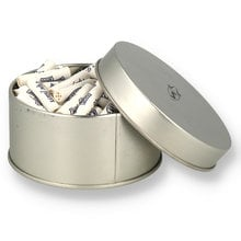 Savinelli 9mm Activated Charcoal Pipe Filters (Tin of 100)