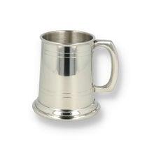 English Pewter Company 2 Line Half Pint Pewter Tankard (HP001)