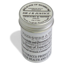 **DISCONTINUED** Fribourg and Treyer Dr J R Justice English Snuff  (Medium Tin)