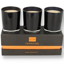 Artamis Set of 3 Orange Peel Scented Candles