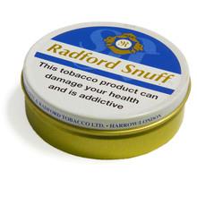 Radfords snuff vacum sealed tin