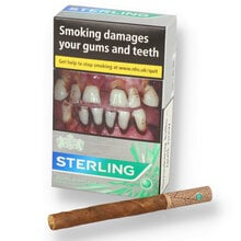 (20 Pack) Sterling Dual Capsule Leaf Wrapped Menthol