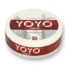YoYo London (Lime Strawberry and Mint) Tobacco Free Nicotine Chew Bags 12mg