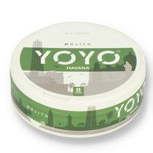 YoYo Havana (Mojito) Tobacco Free Nicotine Chew Bags 12mg