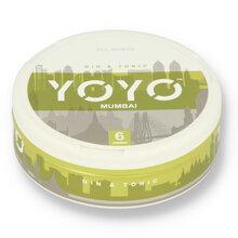YoYo Mumbai (Gin and Tonic) Tobacco Free Nicotine Chew Bags 12mg